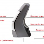 DXT Ergonomic Wireless Mouse 2 Features